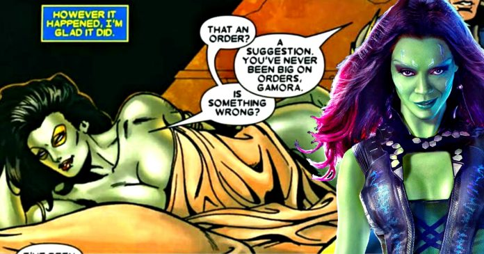 The Time When Tony Stark And Gamora Slept Together, And ...