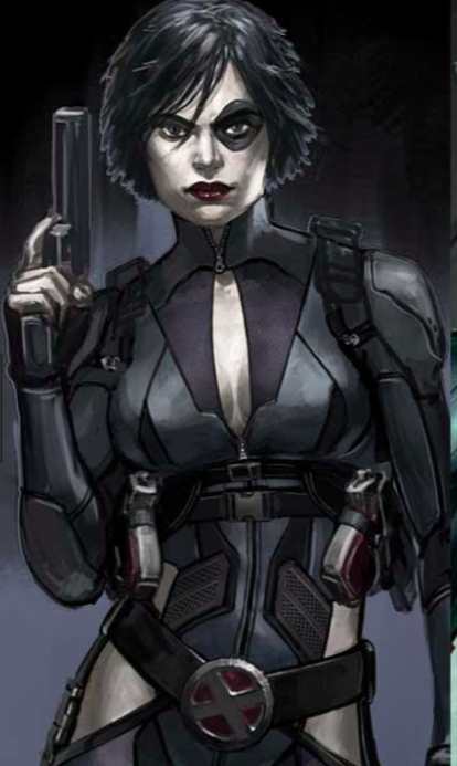 20 Hottest Pictures Of Domino From Comic Books Who Looks ...