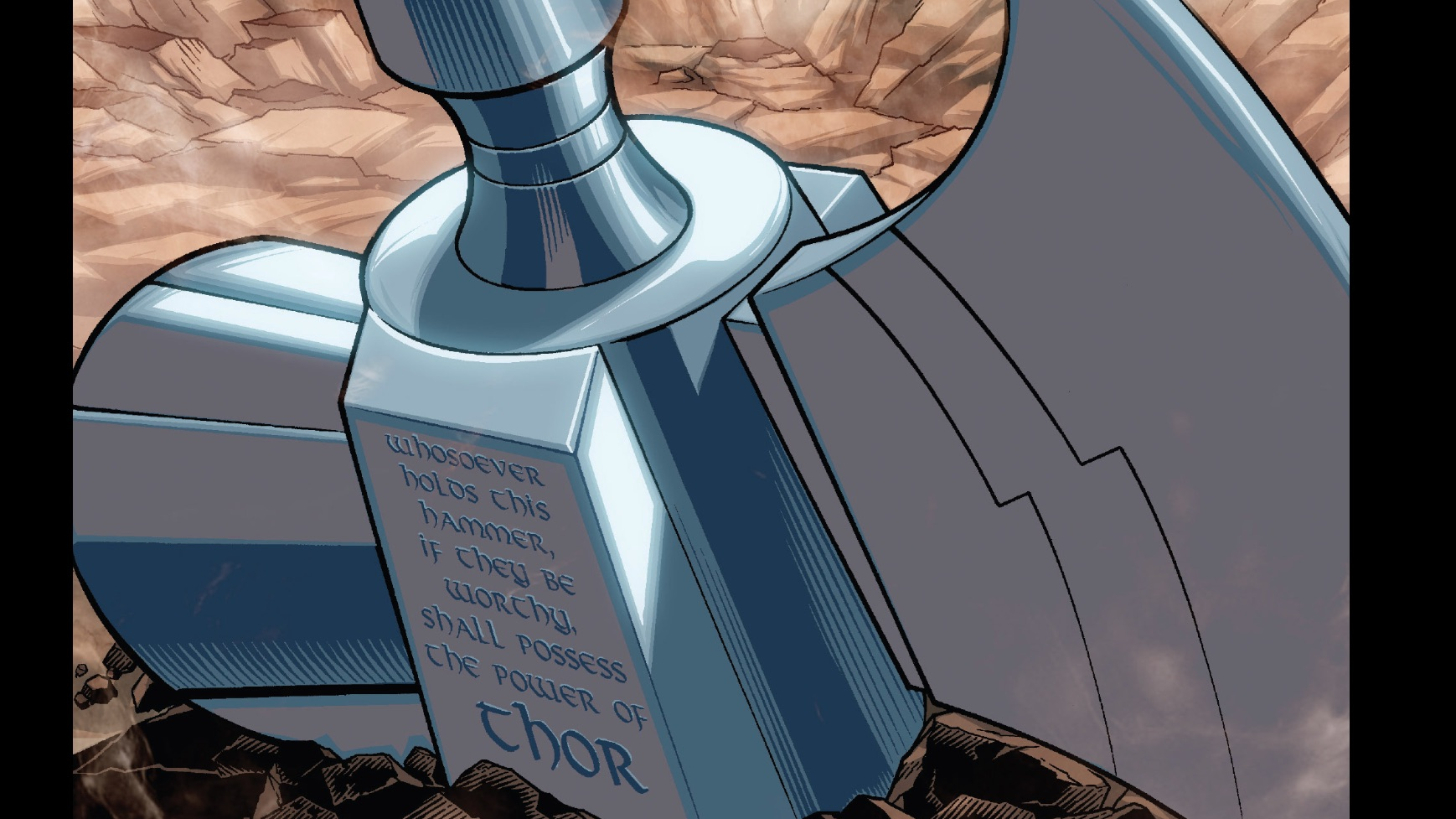 Mjolnir Or The Stormbreaker Which Is Worthy Of Thor Comic Books