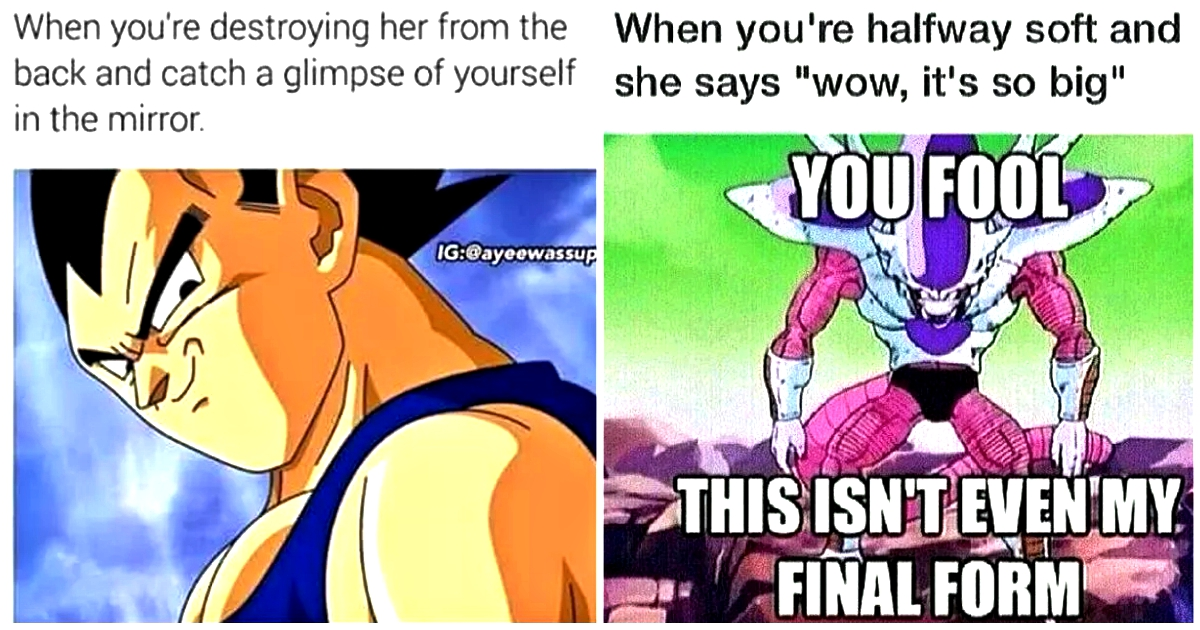 The Funniest And Truly Dirty Dragon Ball Z Memes Online Cloudy