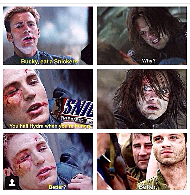 35 Funniest Captain America And Winter Soldier Memes ...