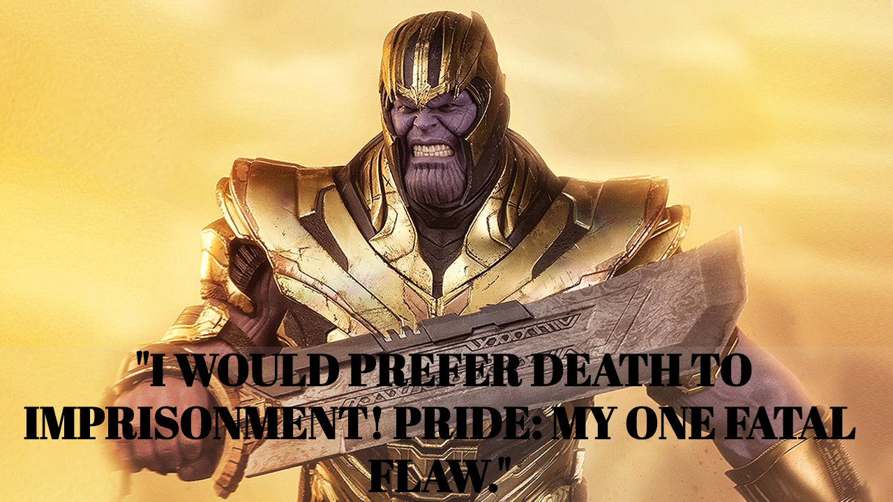 Thanos movie quotes
