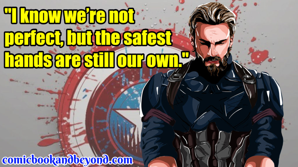 Captain America Best Quotes