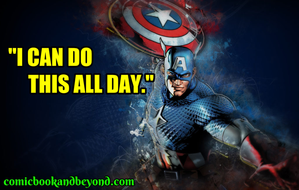 Captain America Famous Quotes