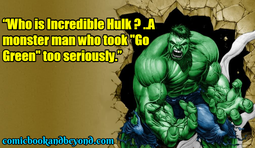 Hulk Famous Quotes