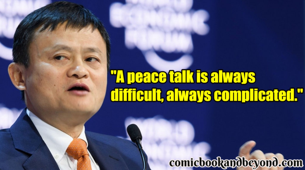 Jack Ma popular Quotes