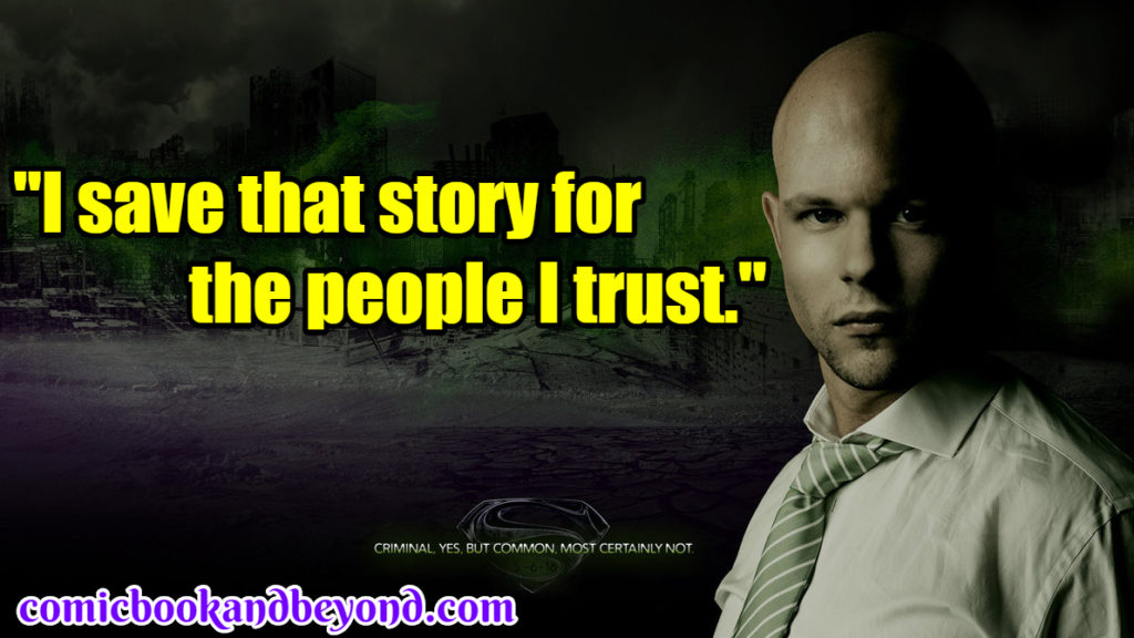 Lex Luthor Popular Quotes