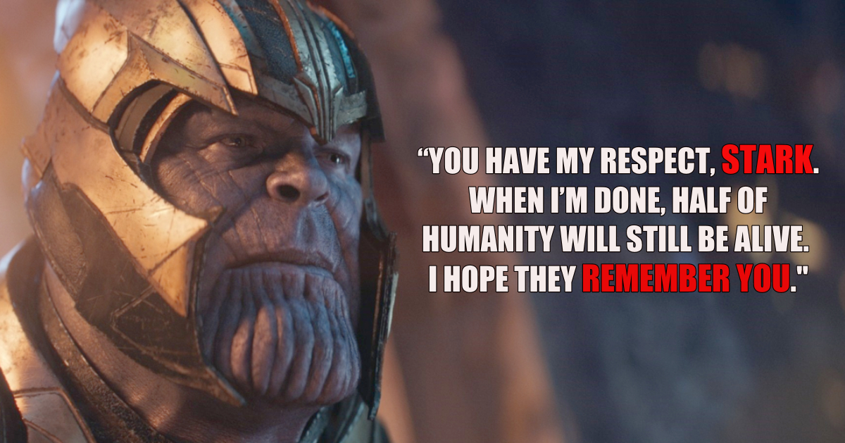 21 Greatest Thanos Quotes From The Marvel Cinematic