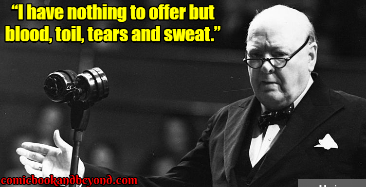 Winston Churchill saying