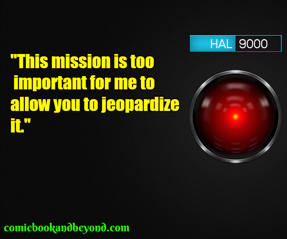Hal 9000 famous quotes