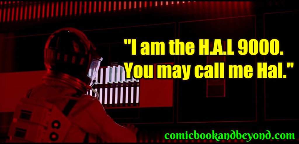 Hal 9000 popular quotes