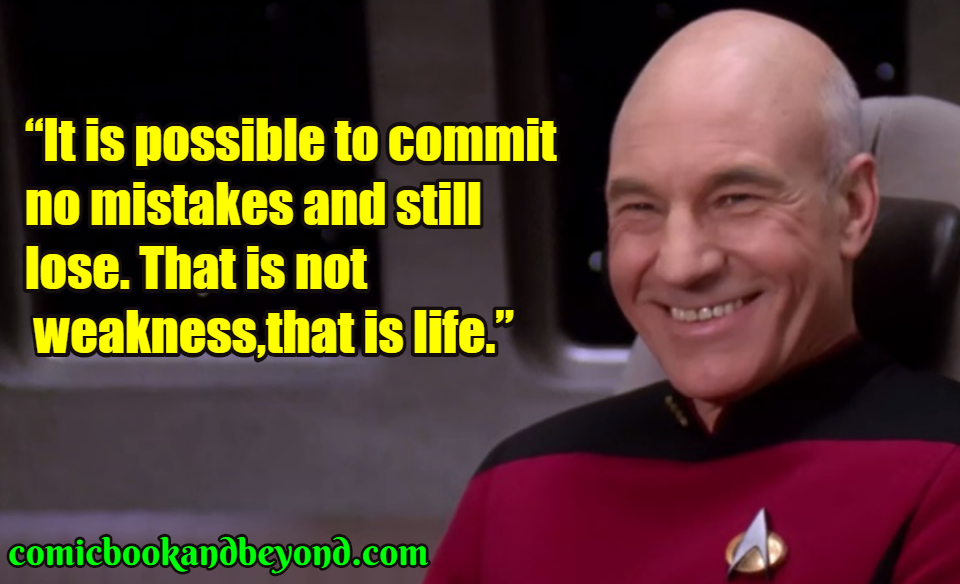 Jean Luc Picard best quotes
