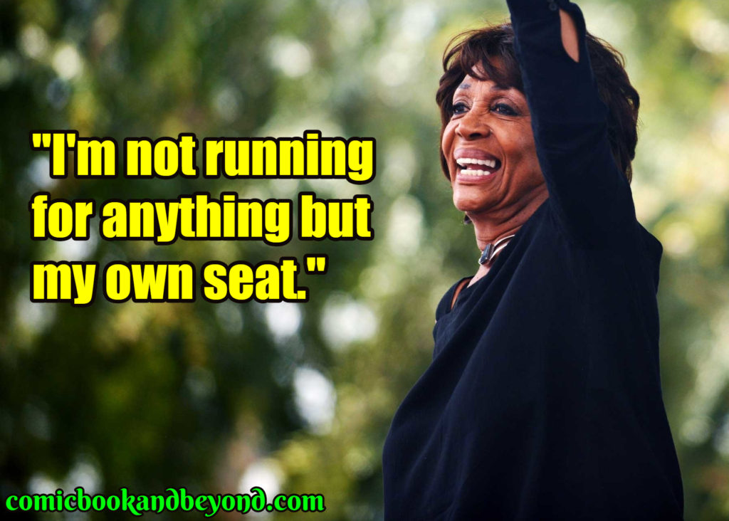 Maxine Waters popular quotes