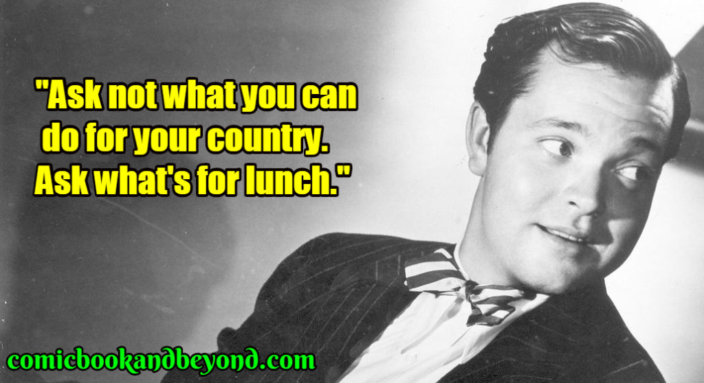 Orson Welles famous quotes