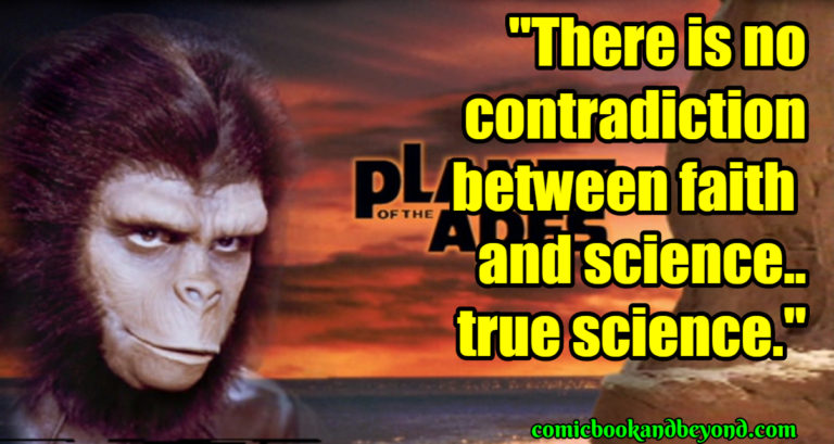 Planet Of The Apes Famous Quotes
