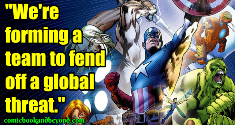Ultimate Avengers Best Quotes