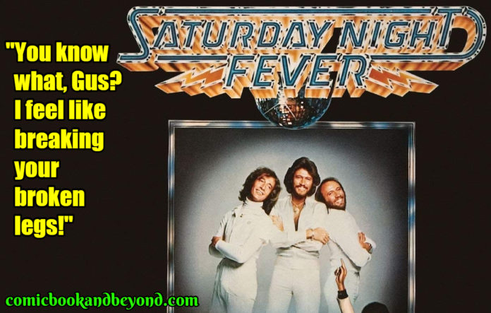 Saturday Night Fever best quotes