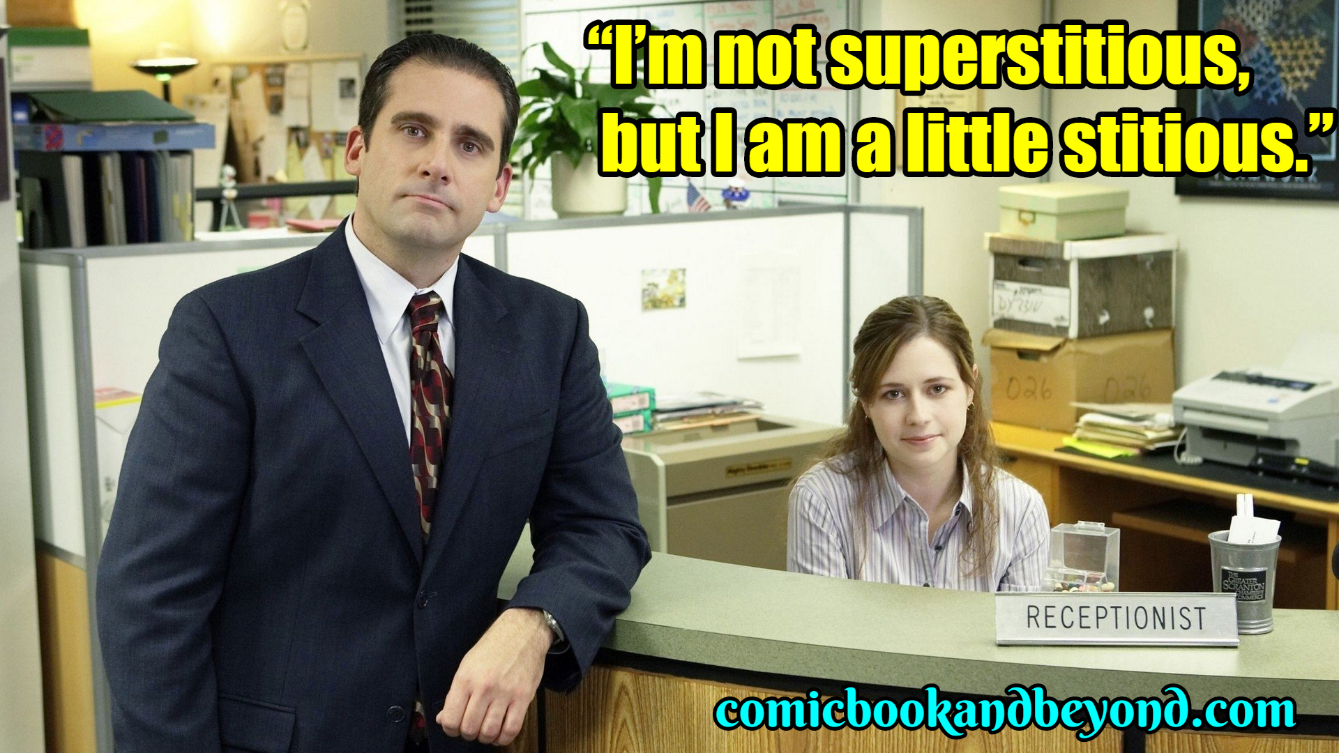 THE OFFICE SAYING