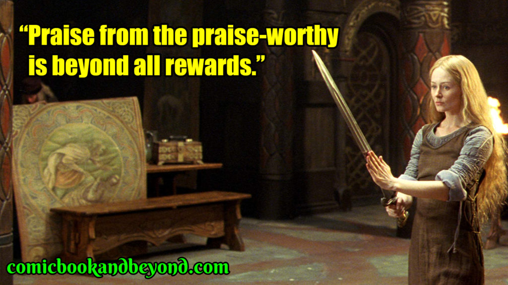 The Lord of the Rings The Two Towers popular quotes