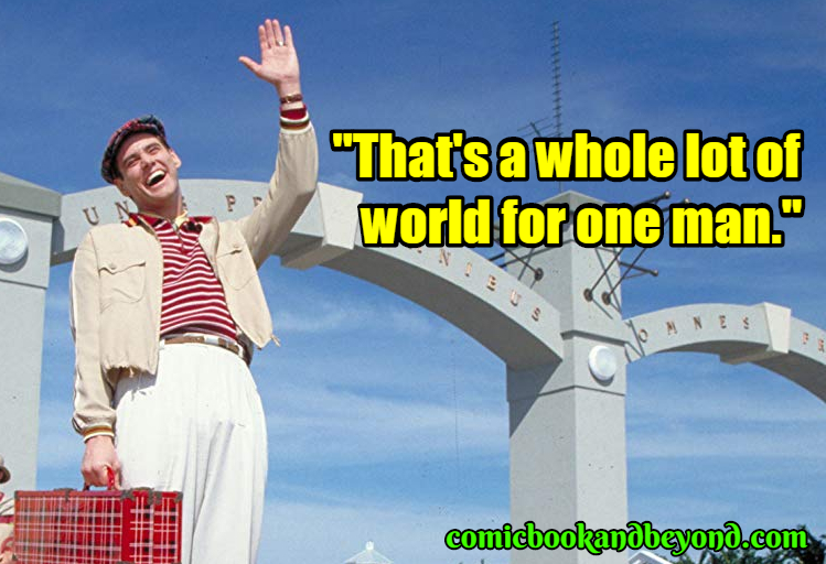 The Truman Show best quotes