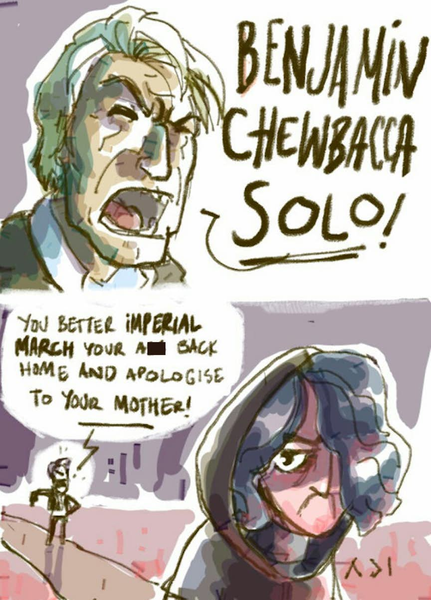 15 Hilarious Han Solo Family Memes Will Crack You Up Like ...
