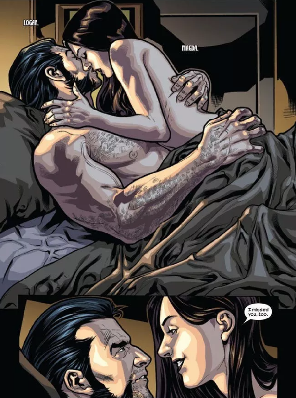 15 Marvel Comic Book Panels That Got Too Hot To Handle ... Ultimate Quicksilver And Scarlet Witch Relationship