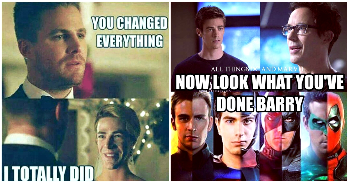 29 Hilarious The Flash Memes Which Might Cause Stomach Ache