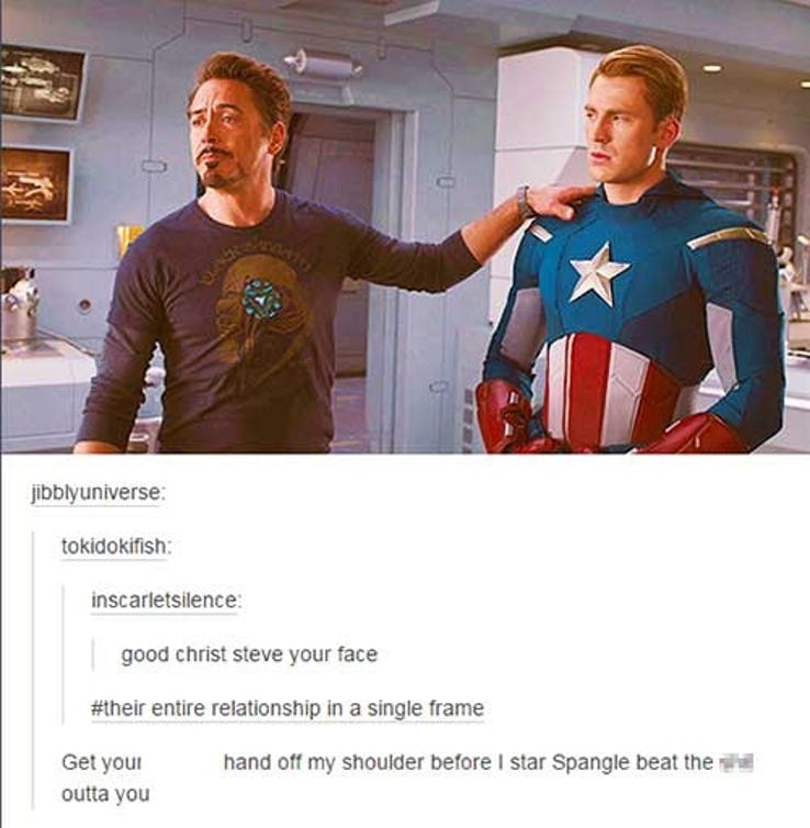28 Epic Tumblr Memes That Will Change The Way You Look At Marvel