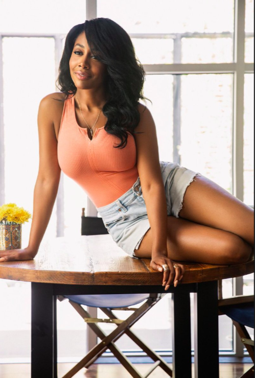 Simone Missick In Short Sexy Shorts