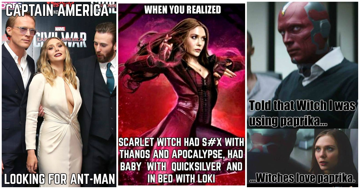 33 Most Lol Scarlet Witch Memes To Make Fans Laugh Comic Books