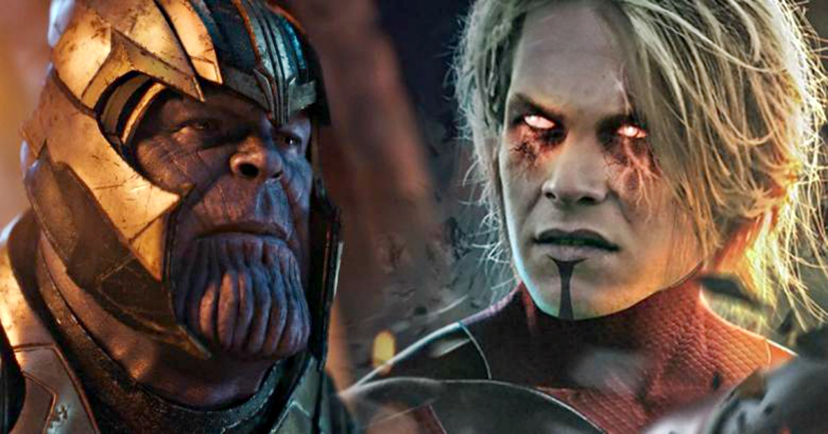 Thanos Vs Adam Warlock - The Battle Between The Most