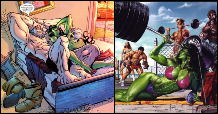 The Time When Juggernaut And She-Hulk Hooked Up And Destroyed Hotel Room While Doing It