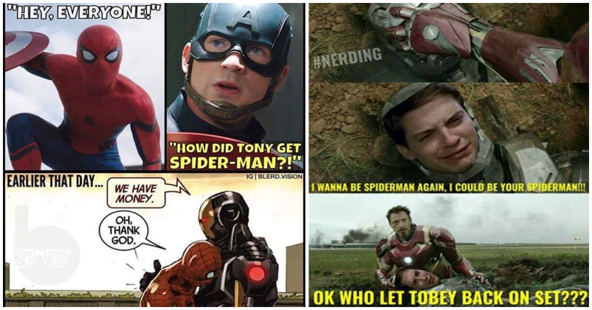 25 Super Funny And Fresh Iron Man Vs Spiderman Memes Only For True