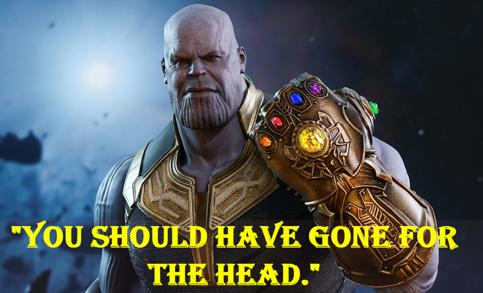 Thanos famous quotes