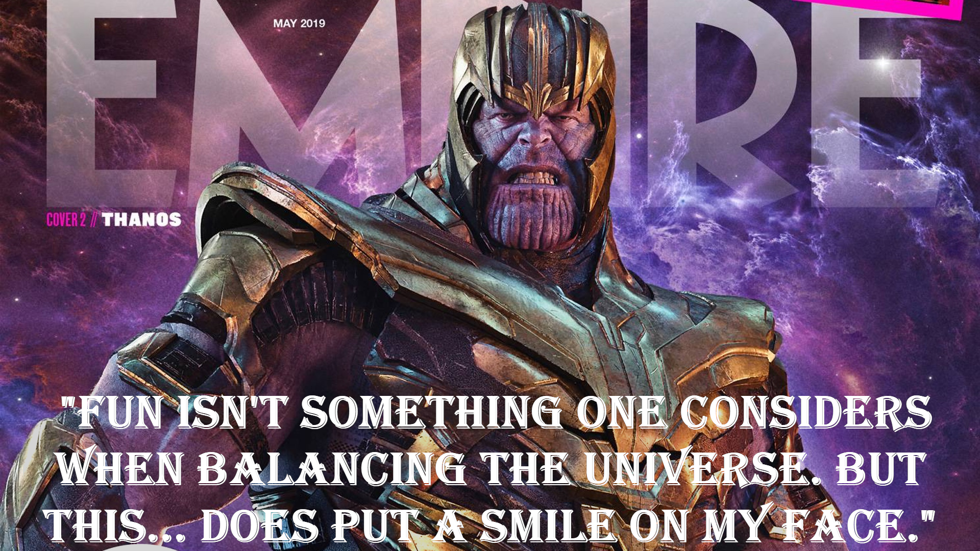 Thanos avengers quotes