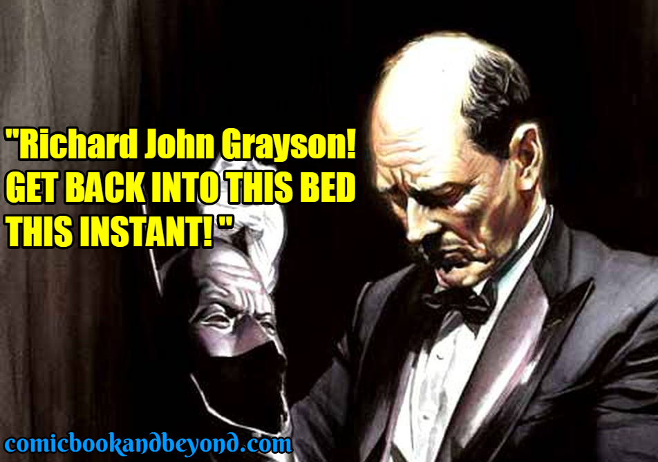 Alfred Pennyworth Famous Quotes