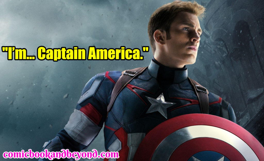 Captain America Sayins