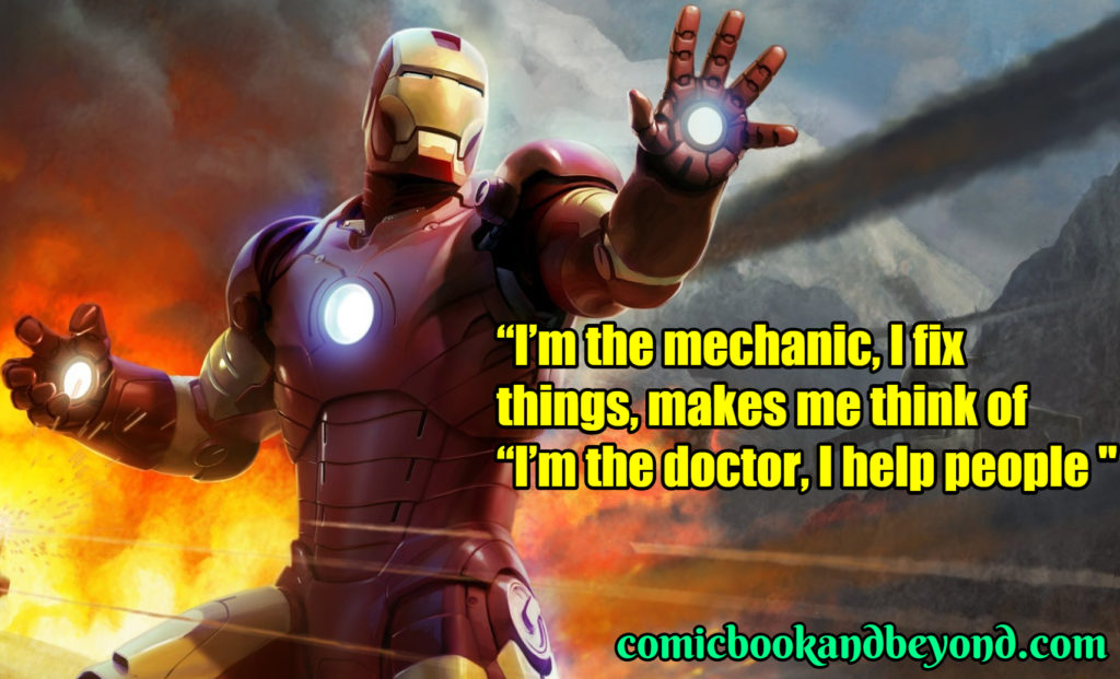 Ironman Saying