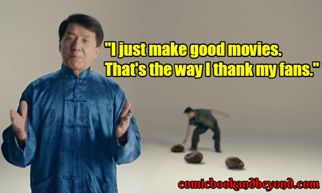 Jackie Chan popular Quotes
