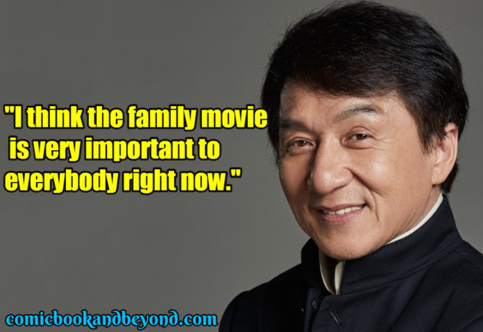 Jackie Chan saying