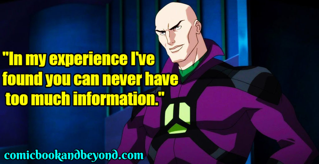 Lex Luthor Saying