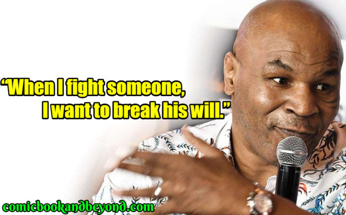Mike Tyson Saying
