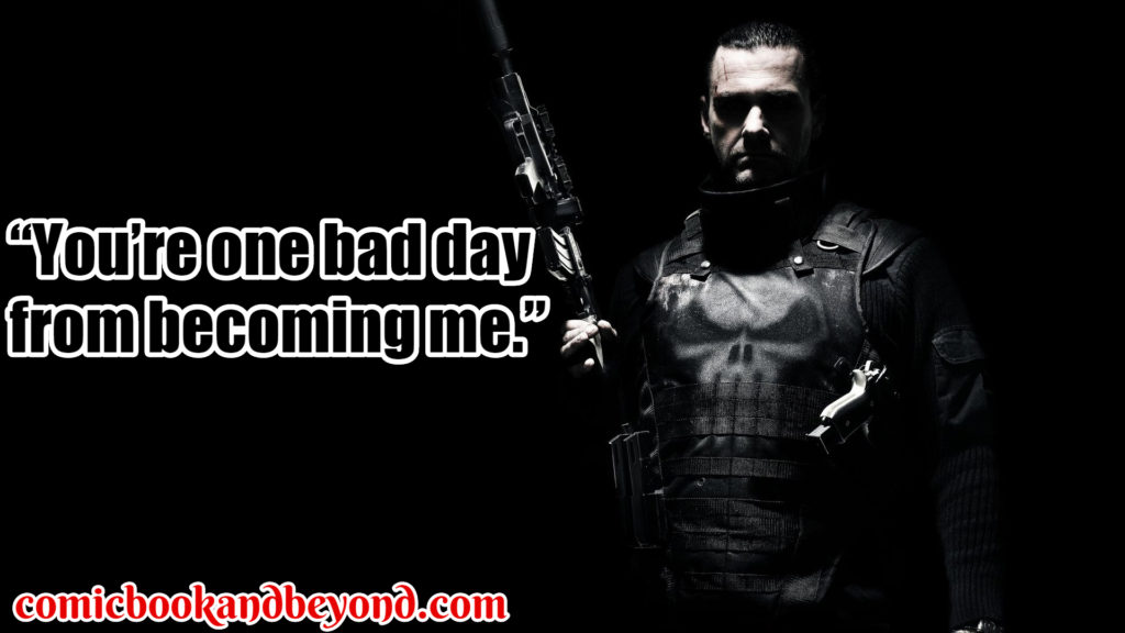 Punisher Famous Quotes