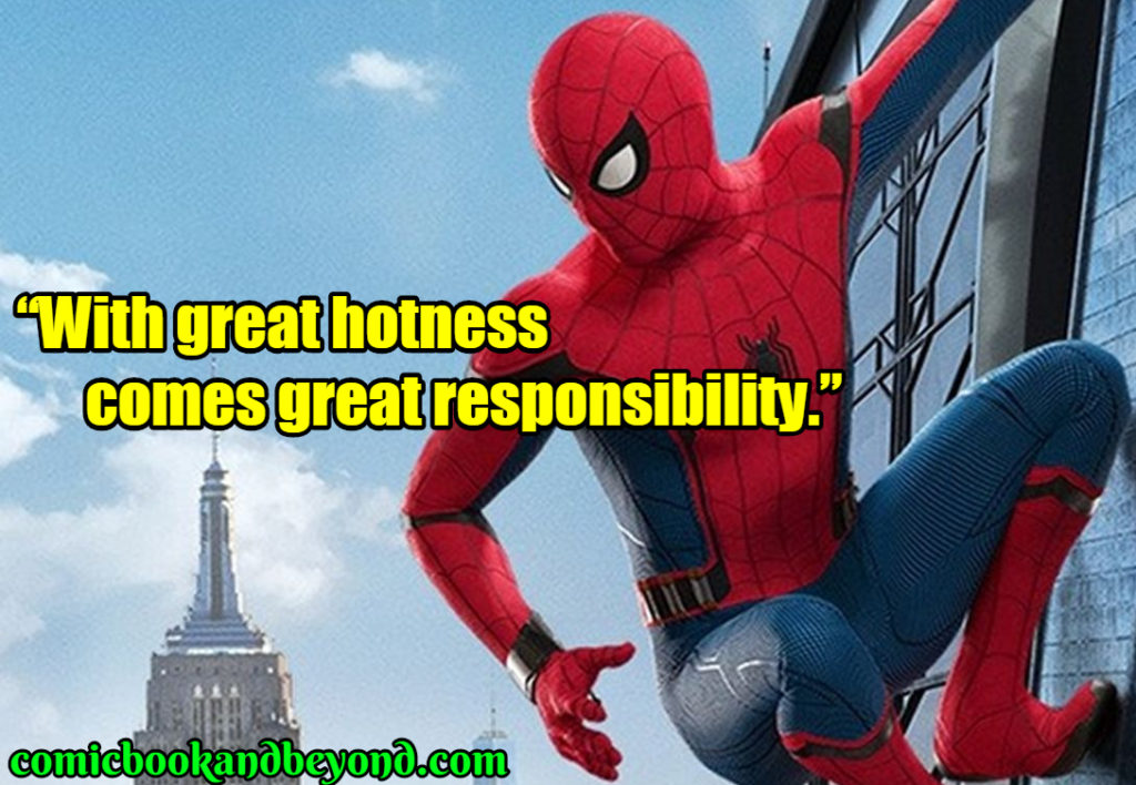 Spiderman Famous Quotes