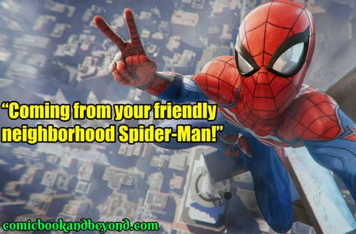Spiderman Popular Quotes