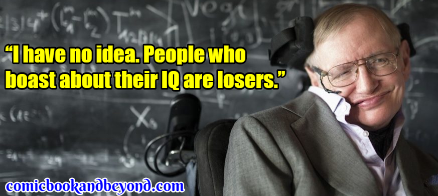 Stephen Hawking Saying