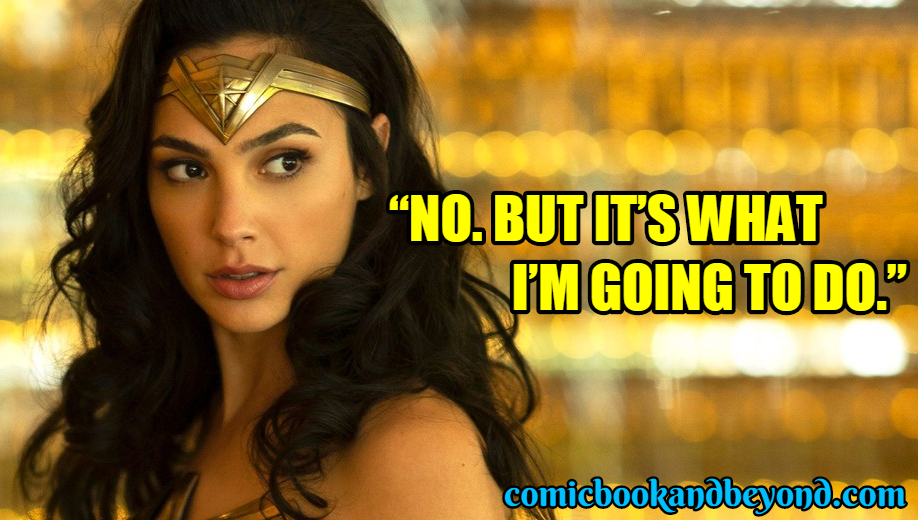 Wonder Woman Popular Quotes