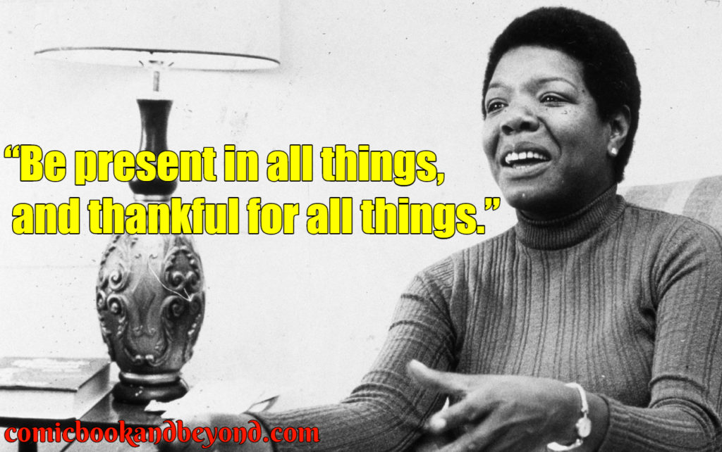 maya angelou best quotes