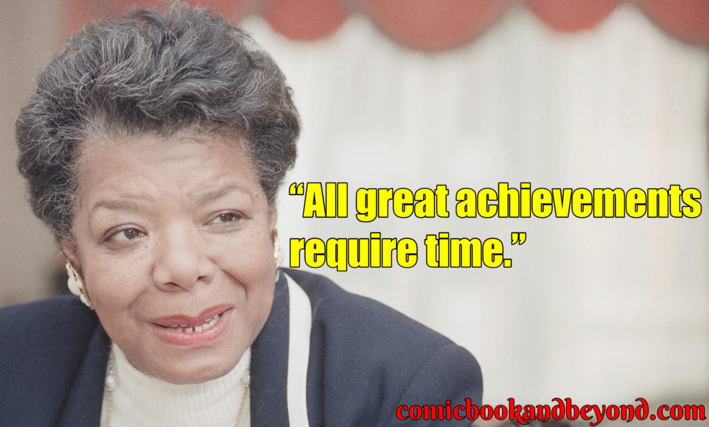 maya angelou saying