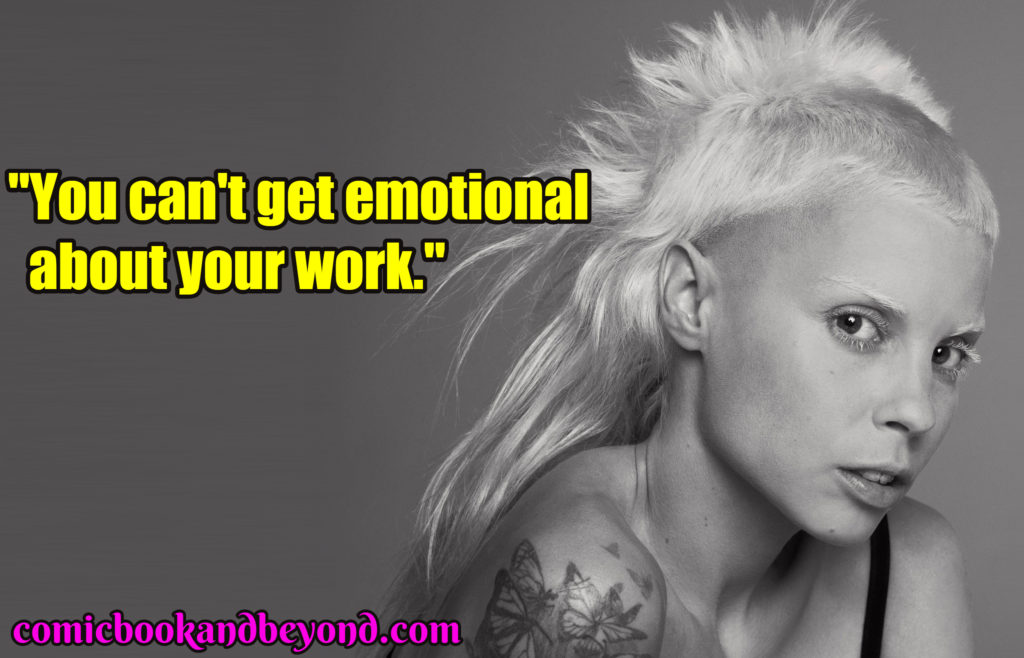 yolandi visser saying